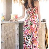 ISLAND GIRL HALTER MAXI DRESS | Body Central