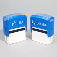 Like &amp; Dislike Stamps | Set of 2 Novelty Stamps
