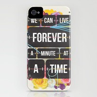 Time of Your Life iPhone Case by Matthew Kavan Brooks | Society6