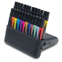 $69.99 Prismacolor Premier Double-Ended Art Markers - Set of 24 with Carrying Case