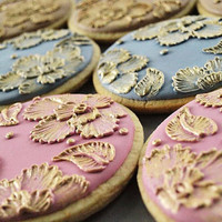 Brush Embroidered Cookies...