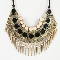 Urban Outfitters - Spiked Bib Necklace