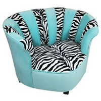 Newco Kids Sweetheart Chair Tween Zebra