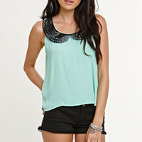 Kirra Peter Pan Collar Shirt at PacSun.com