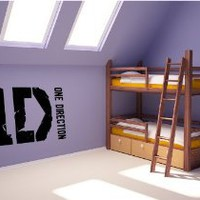 Amazon.com: 1 D ONE DIRECTION~ ONE DIRECTION: WALL DECAL, HOME DECOR 10&quot; X 19.5&quot; PLEASE NOTE SIZE, WE DO HAVE A LARGER ONE AVAILABLE AS WELL: Kitchen &amp; Dining