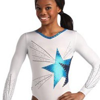 Dual Star Design Comp Leotard from GK Elite