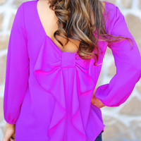 I Love You So Blouse: African Violet | Hope's