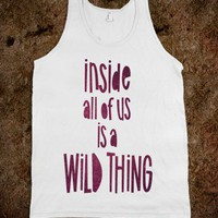 Wild Thing (tank) - Typography