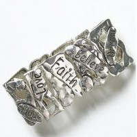 &quot;Joe Browns&quot; Joe Browns Faith Hope Love Cuff at Simply Be