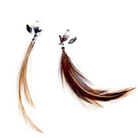 OBEY Clothing DOVE EARRINGS - WOMENS JEWELRY by OBEY Clothing