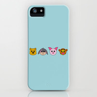 Winnie the Pooh dolls iPhone Case by Aurelie Scour  | Society6