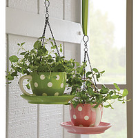 Teacup Flowerpot from Through the Country Door®