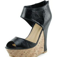 Contrast Cork Wedges