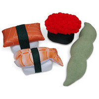 ThinkGeek :: Sushi Pillows