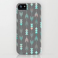 Aztec Arrows iPhone Case by Sunkissed Laughter | Society6