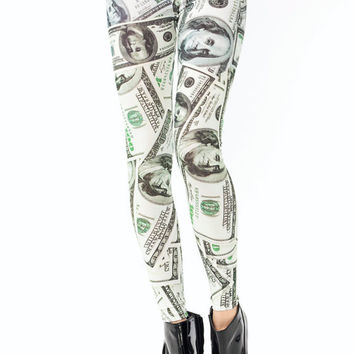 hundred-dollar-bill-leggings BONEGREEN - GoJane.com