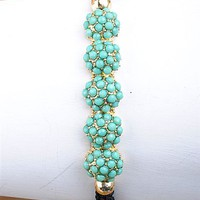 Minty Stretch Bracelet