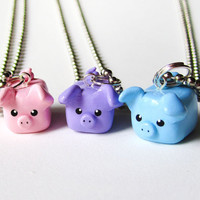 Pastel Colors Three Little Pigs Best Friend by MadAristocrat