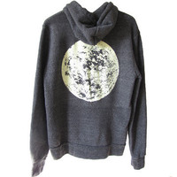Lucky Fish: Glow Moon Hoodie Unisex, at 23% off!