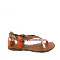 Joan Multi Gold Sandals - Flats - Shoes - Jessica Simpson Official Site - Jessica Simpson Shoes, Boots, Dresses, Handbags, Apparel