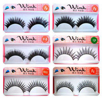 Fashion Lashes - 30 Pairs Long, Dramatic Blunt Cut False Eyelashes FX - $15.01