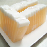 Peaches & Cream Olive Oil Soap (VEGAN)