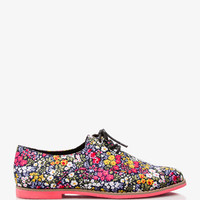 Floral Oxfords | FOREVER 21 - 2025100517