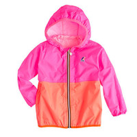 Girls' K-Way® for crewcuts Claude Klassic jacket in colorblock - K-Way - Girl's j.crew in good company - J.Crew