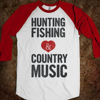 White/Red T-Shirt | Cute Country Girl Shirts