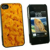 Amazon.com: Mac N Cheese - Macaroni and - Snap On Hard Protective Case for Apple iPhone 4 4S - Black: Cell Phones & Accessories