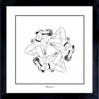 Splash! Fine Art Print (Black and White) from Dupenny | Made By Dupenny | £23.00 | Bouf