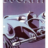 Vintage/Retro Car Advertisement Prints/Posters from I Love Retro | Made By  | £14.95 | Bouf