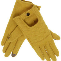 KIT Gloves in Chartreuse