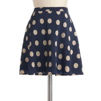 Cool, Casual, and Collected Skirt | Mod Retro Vintage Skirts | ModCloth.com