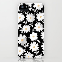 Daisies iPhone Case by Leah Reena Goren