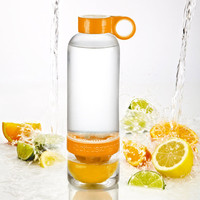 Citrus Zinger Flavored Water Infusion Bottle at Brookstone—Buy Now!