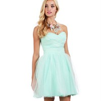 Taylor-Mint Prom Dress