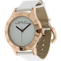 Marc by Marc Jacobs Blade White/Rose Gold - Zappos Couture