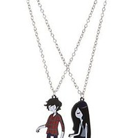 Adventure Time Marshall Lee & Marceline Best Friends Necklaces - 321906