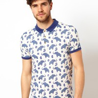 ASOS Polo With Elephant Print