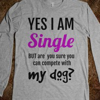 Single - Competition with your Dog - Connected Universe - Skreened T-shirts, Organic Shirts, Hoodies, Kids Tees, Baby One-Pieces and Tote Bags