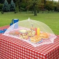 Giant Outdoor Tabletop Food Cover: Patio, Lawn &amp; Garden