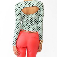 Open Back Polka Dot Top | FOREVER 21 - 2019182597