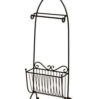 Skylarking Towel and Magazine Rack | Mod Retro Vintage Bath | ModCloth.com