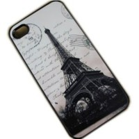 Amazon.com: Case for Apple Iphone 4/4s Eiffel Tower France: Cell Phones & Accessories