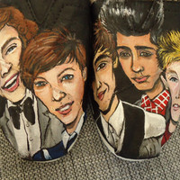 Custom Order Resrved for Monica One Direction TOMS
