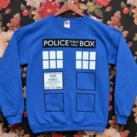 [PREORDER] 'Police Box' Sweater