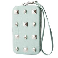 Xhilaration® Skull and Stud Media Case - Mint