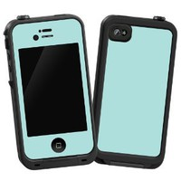 "Mint ""Protective Decal Skin"" for LifeProof 4/4S Case: Electronics"