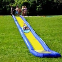 Amazon.com: Rave Sports Turbo Chute Backyard Package Water Slide: Sports & Outdoors